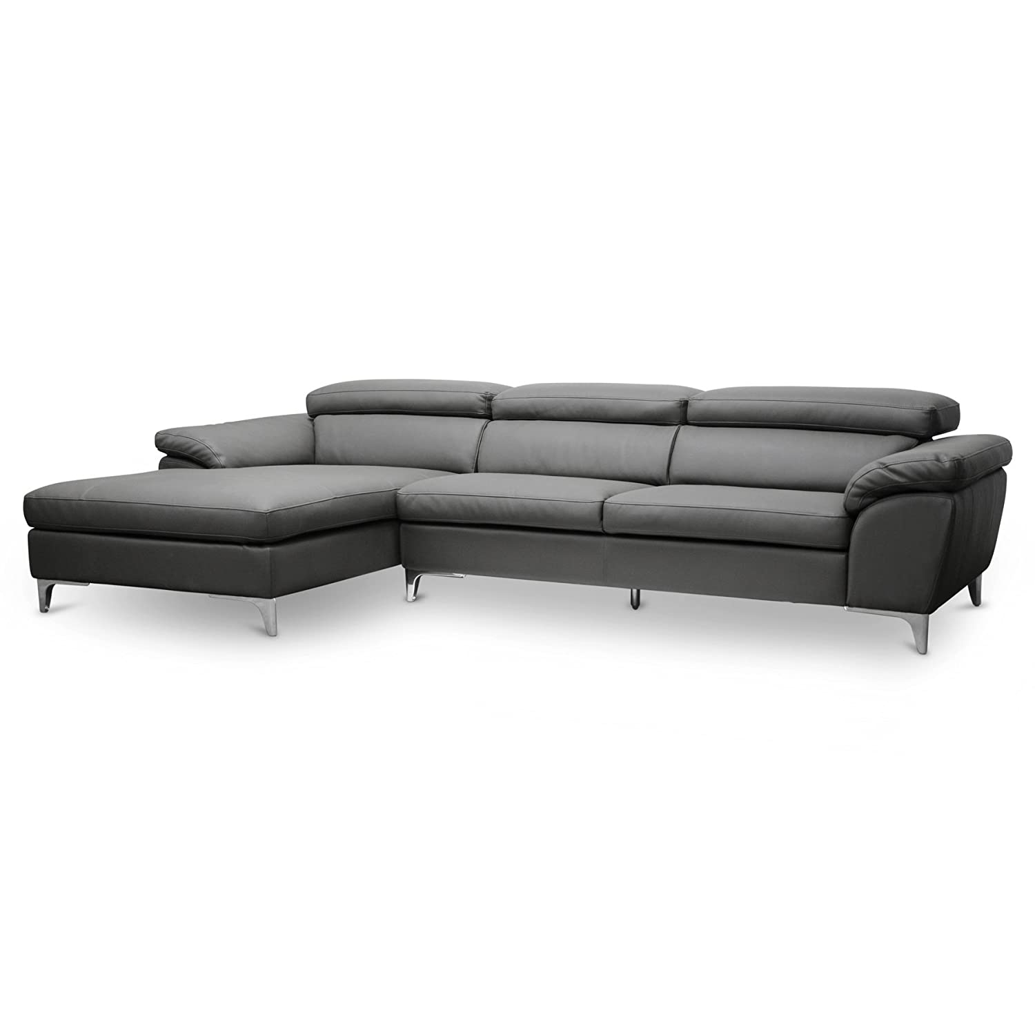 grey in sofa at com comfyco window sectional store lg couch new open poundex sofas
