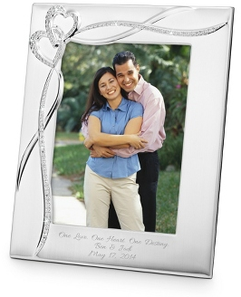 Personalized Intertwined Hearts 8x10 Frame | Things Remembered