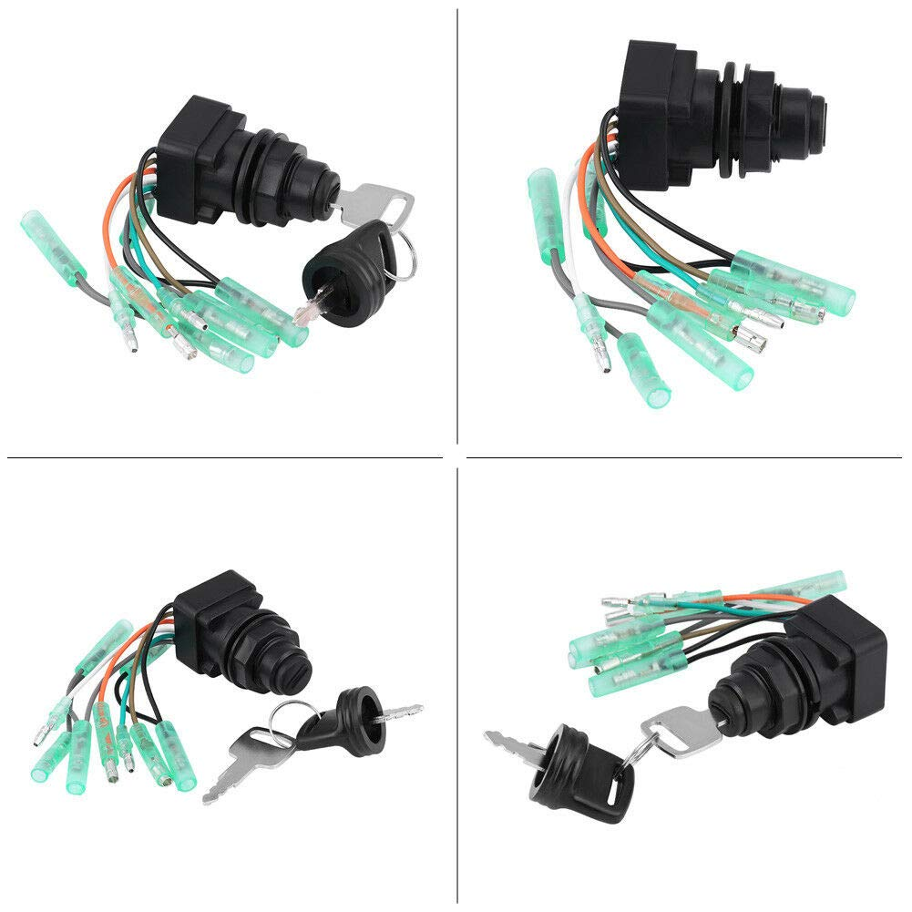 Motor Ignition Key Switch Assembly 37110-99E00 for Suzuki Outboard Control Box 37110-92E01 SP