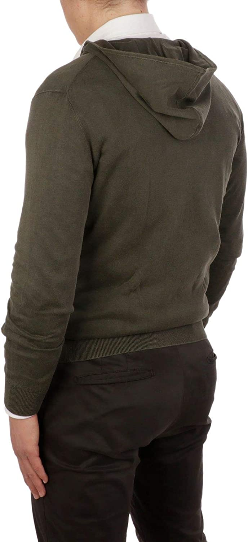 Season Outlet Altea Luxury Fashion Man 195125045 Green Cotton Sweatshirt