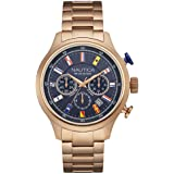 Nautica NAI21507G-WT Montre-bracelet pour homme
