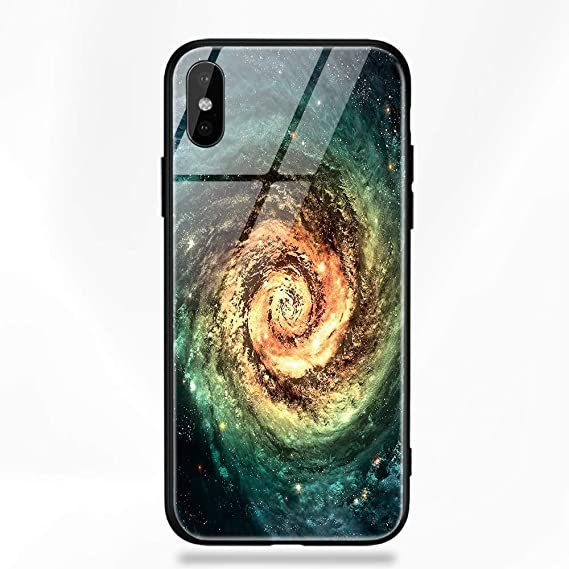 Amazon.com: Half-Wrapped Case - Glass Phone Case for iPhone ...