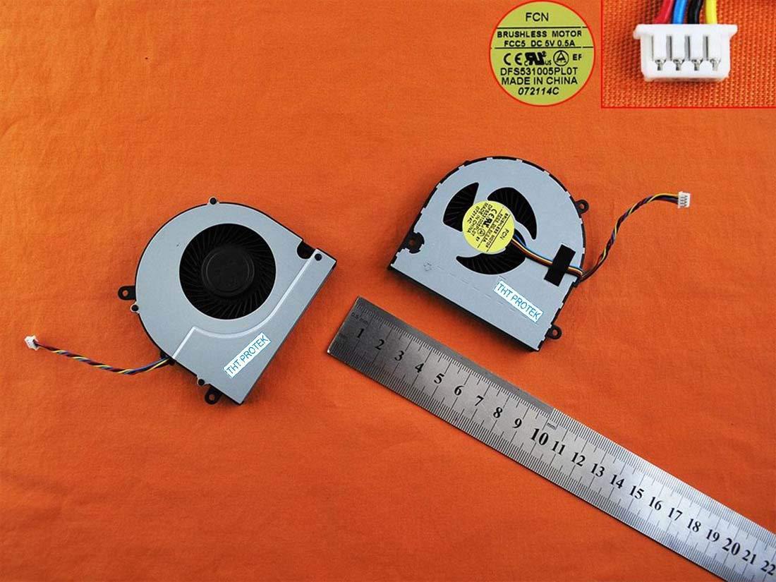 G700A Kompatibel f/ür Lenovo Ideapad G700 G710 L/üfter K/ühler Fan Cooler Z710