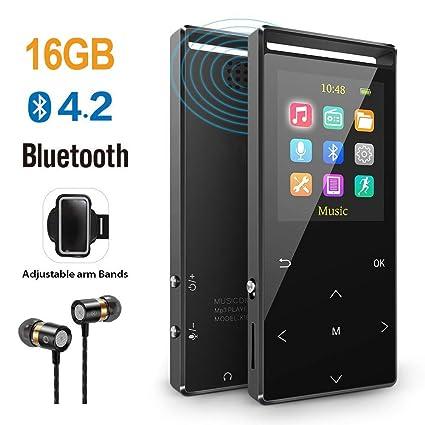 Tragbares Audio & Video Neueste Hifi Stereo Bluetooth Mp3 Musik Player 8 Gb Unterstützung Aufnahme Fm Radio Ebook Video Lcd Display Bildschirm Sport Mp3 Player