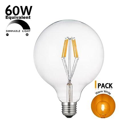 Vintage bombilla LED EPACK E27 Edison Bombilla de filamento de tungsteno, 220 V 4 W