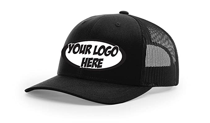 Amazon.com  96 Pack Richardson Trucker 112 Hat Cap Embroidered with You  Logo ON The Front Corporate  Clothing a9e5073a7a9