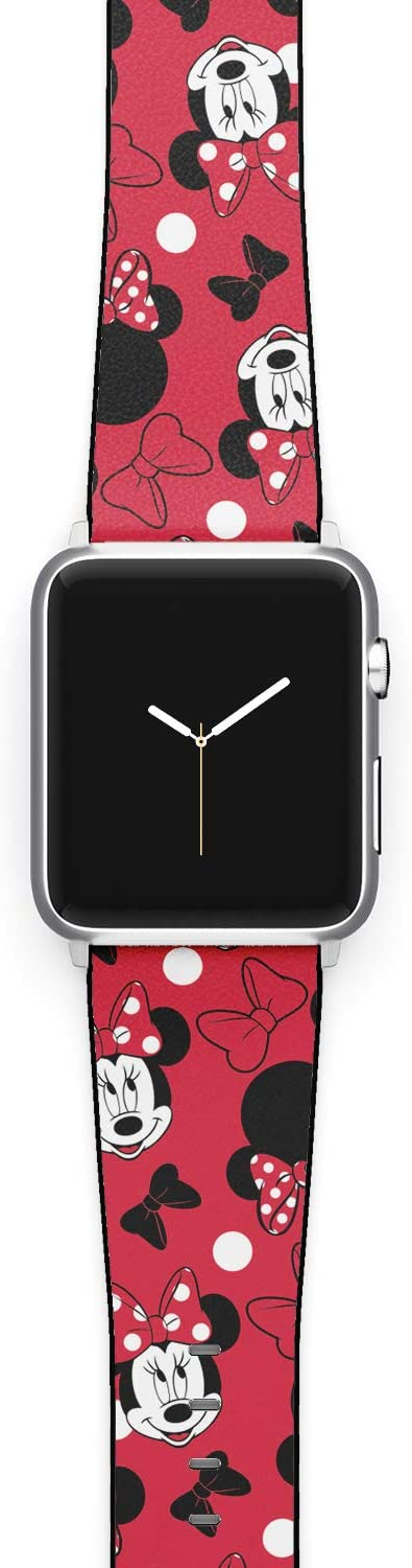 Watch Band Compatible with Apple iWatch All Series 38mm 40mm 42mm 44mm Cartoon Design Strap (mick2) (42/44mm)