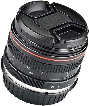 Baosity - Lente Fija Manual Macro para cámara réflex Digital Nikon ...