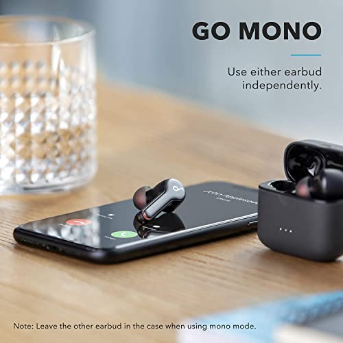 Anker Soundcore Liberty Air 2 Wireless Earbuds, Diamond Coated Drivers, Bluetooth Earphones, 4 Mics, Noise Reduction, 28H Playtime, HearID