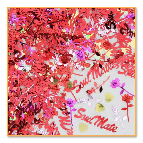 Soul Mate Confetti (Pack of 96) by Beistle