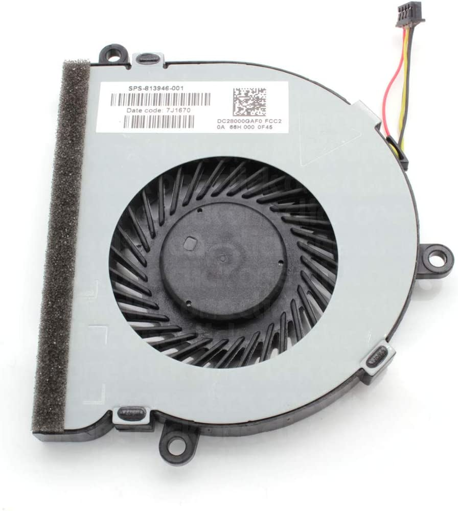 One Click Components New Replacement CPU Cooling Fan for HP Notebook 15-AC120NA N7J55EA#ABU