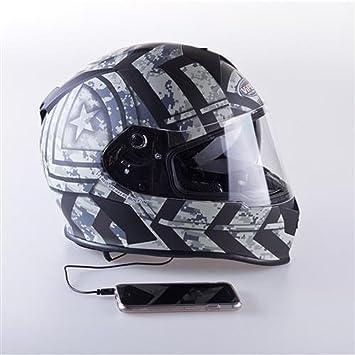 Viper Casco de ciclismo moto rsv8 Stereo, Combat Mate