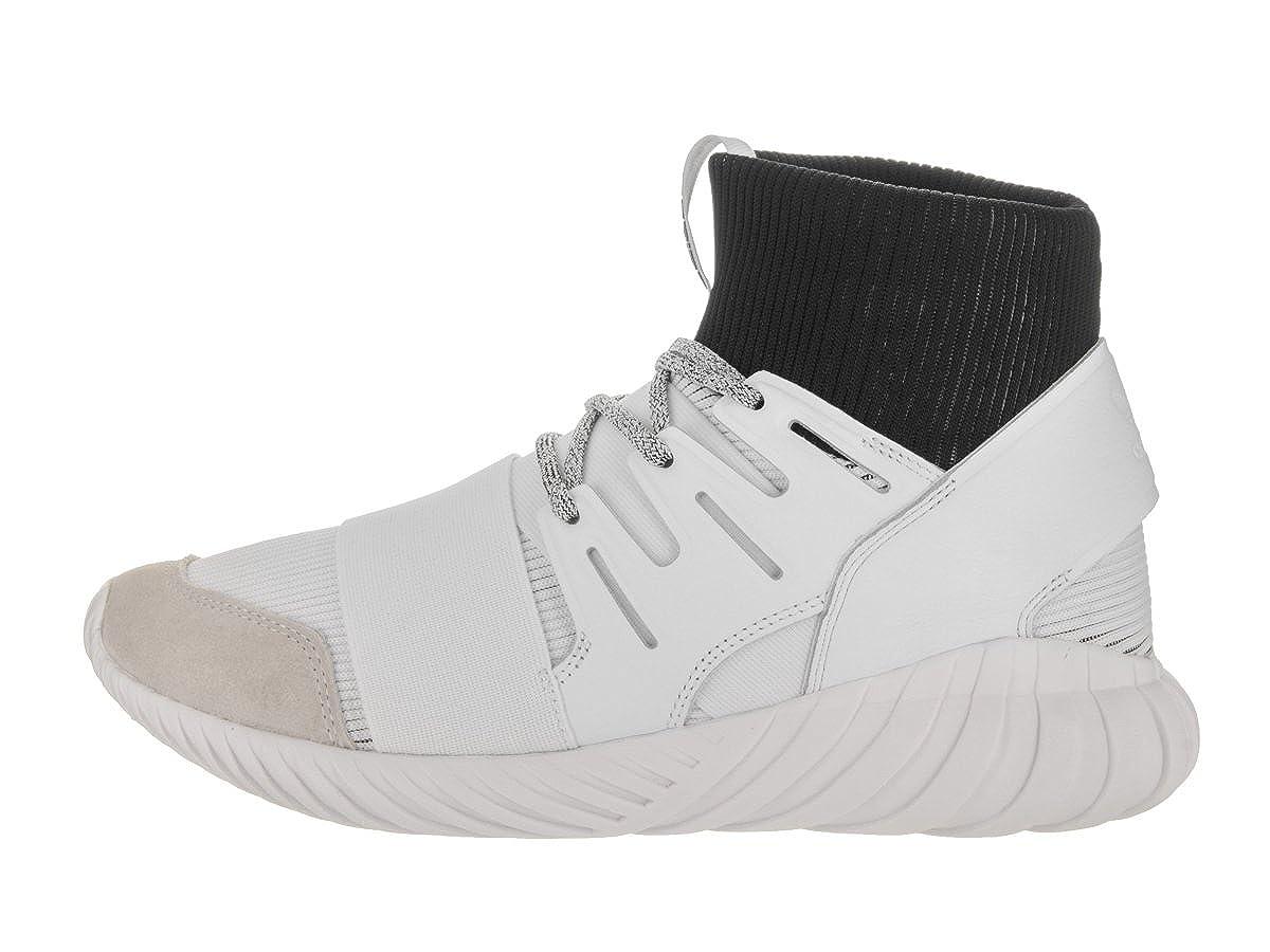 adidas Men s Tubular Doom Originals Running Shoe 9 White