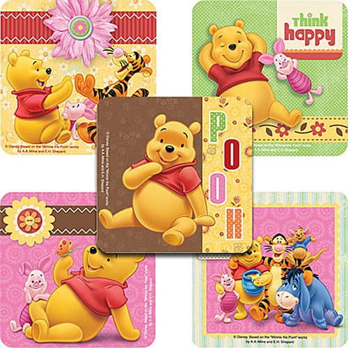(Disney Winnie The Pooh and Friends Stickers - Party Favors - 100 Per Pack)