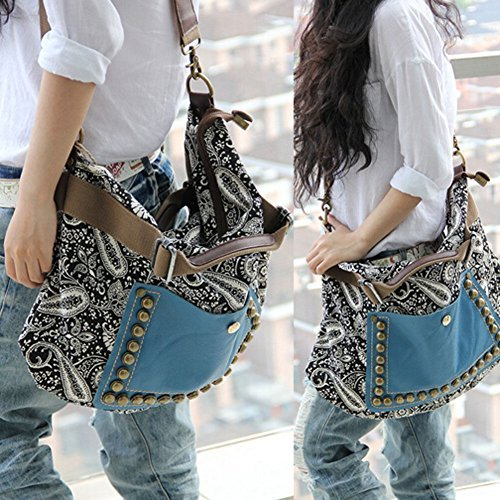 Around Hobo - Alpertie New Hobo Satchel Fashion Bag Tote Messenger Leather Purse Shoulder Handbag Women