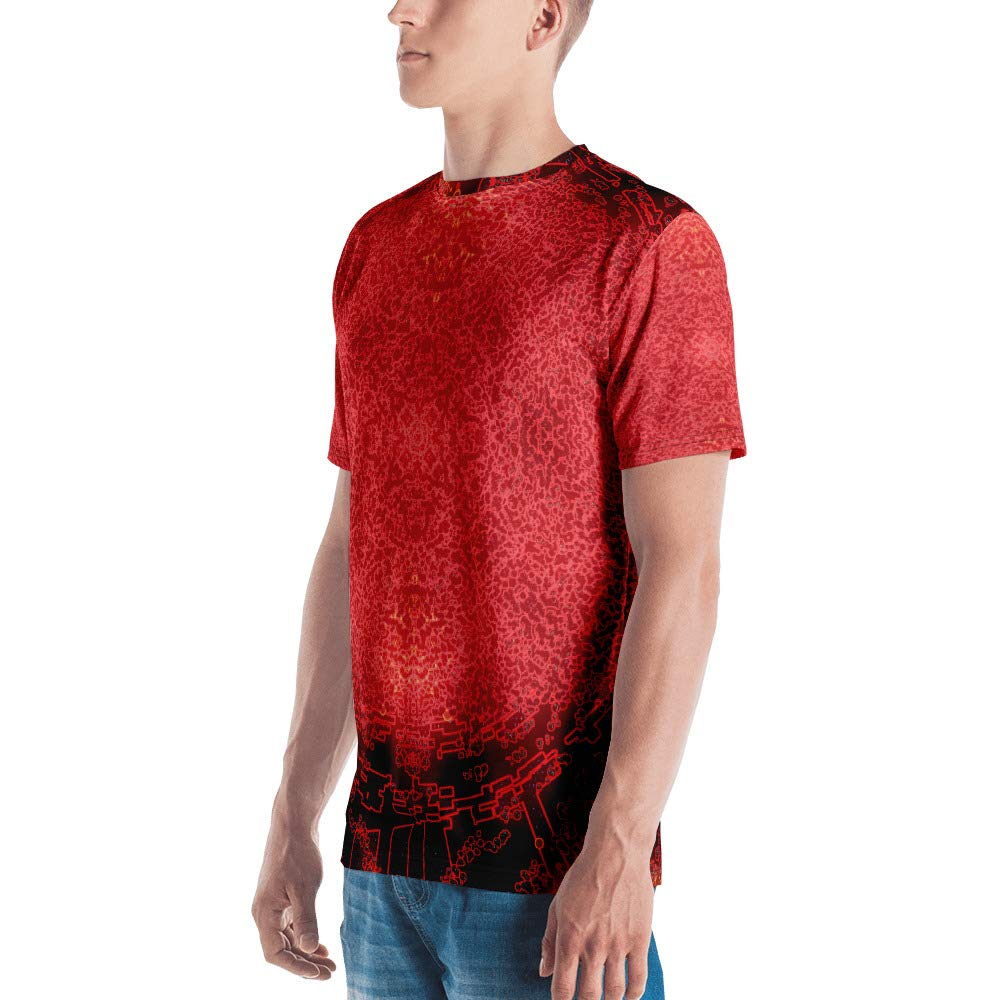 Redshift Ablation Spellbound Clothing Mens T-Shirt Full Print Premium Knit 100/% Polyester Jersey