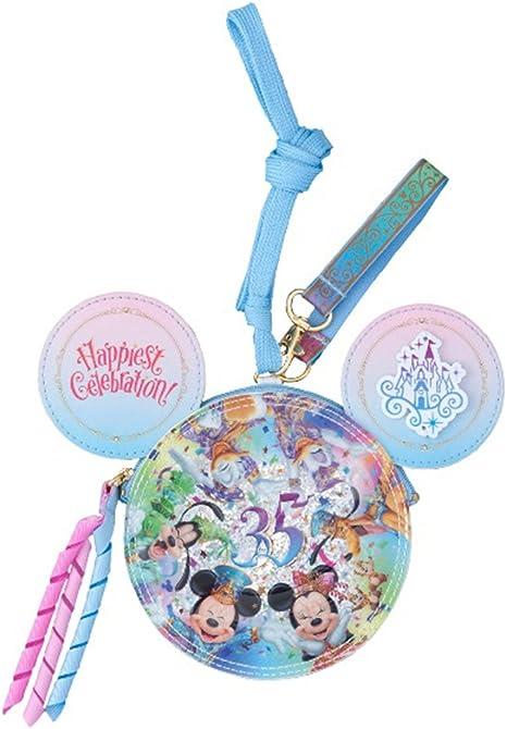 Tokyo Disney Resort 35th Anniversary Duffy /& Friends Neck Coin Case Pass Case