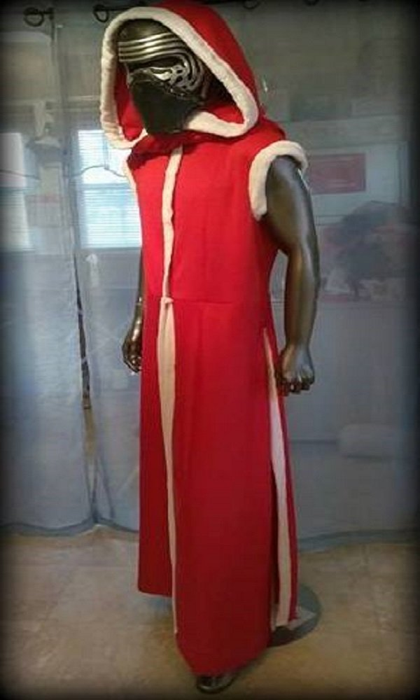 Santa Kylo Ren SKB Style Coat & Hooded Cape by Handmade Costumes