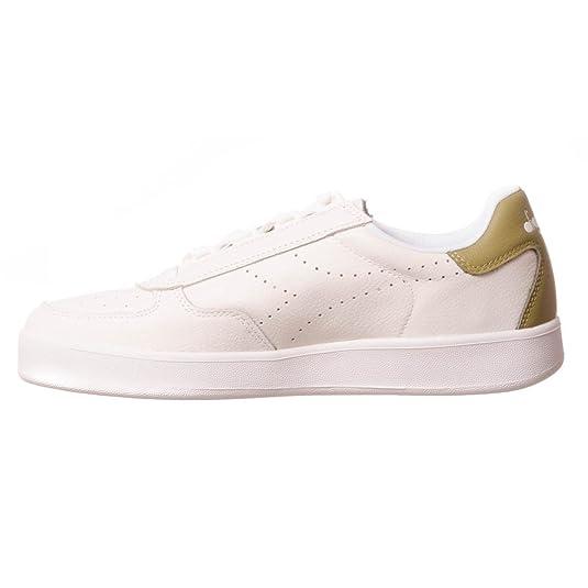 Diadora B.Elite Premium L hommes, cuir lisse, sneaker low, 40 EU