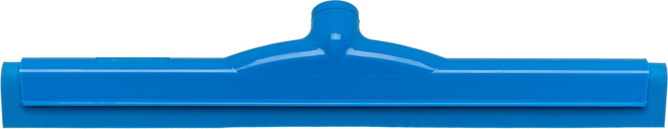 Carlisle 4156714 Spectrum Plastic Double Foam Rubber Hygienic Floor Squeegee, 18'' Width, Blue (Case of 6) by Carlisle (Image #2)