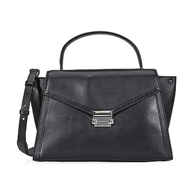 64d17233eb4d Amazon.com  Michael Kors Whitney Ladies Large Leather Satchel  30T8SXIS3L001  Shoes