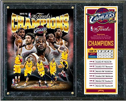 Cleveland Cavaliers 2016 NBA Finals Champions Photo Plaque (Size: 12