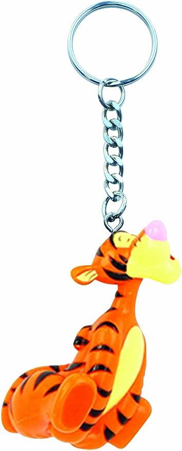 Amazon.com: Disney Tigger PVC Figura llavero: Toys & Games