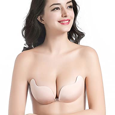 088e58d763075 Women s Silicone Strapless Backless bras Push-up Bra