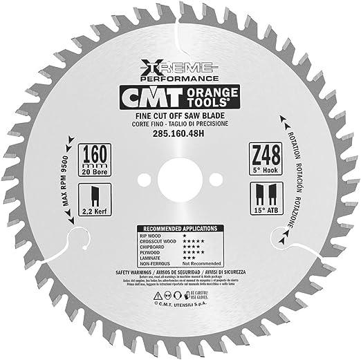 Cmt 28516048h Lame Circulaire Pour Coupe De Précision Série Industrielle Métalgris