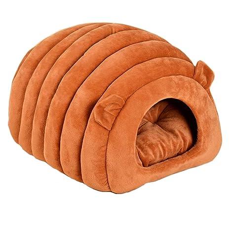 ZHAO ZHANQIANG Saco de Dormir de Invierno para Gatos, Cuatro Estaciones universales, casa de