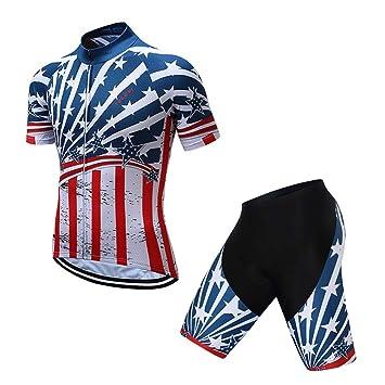 ACZZ Conjunto de jersey de ciclismo de verano Ropa de bicicleta de ...