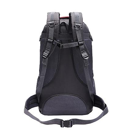Amazon.com   SMUNIFUR 60L Hiking Backpack Lightweight Travel Daypack  Waterproof Outdoor Bag Packable Foldable Durable Shoulder Sport Ultralight  Rucksack ... 0c163948ddc3f