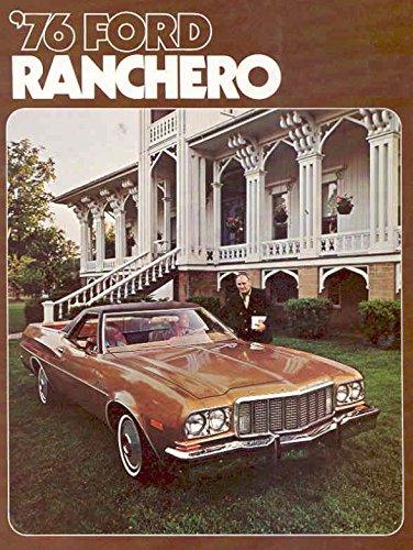 1976 Ford Ranchero Sales Brochure (Ranchero Brochure)