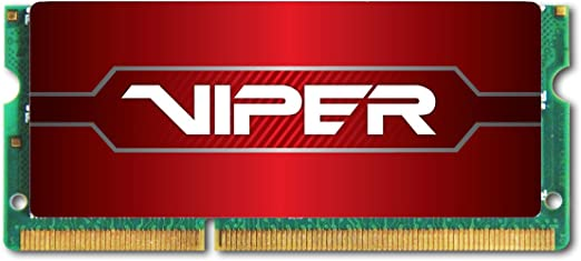 Patriot Memory Performance Viper DDR4 8GB SODIMM PC4-19200 2400MHZ PV48G240C5S Red Components at amazon