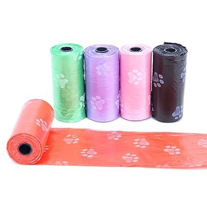 nikgic Generic bolsas de residuos dispensador de bolsas biodegradables para perro bolsas de déjections Canines para
