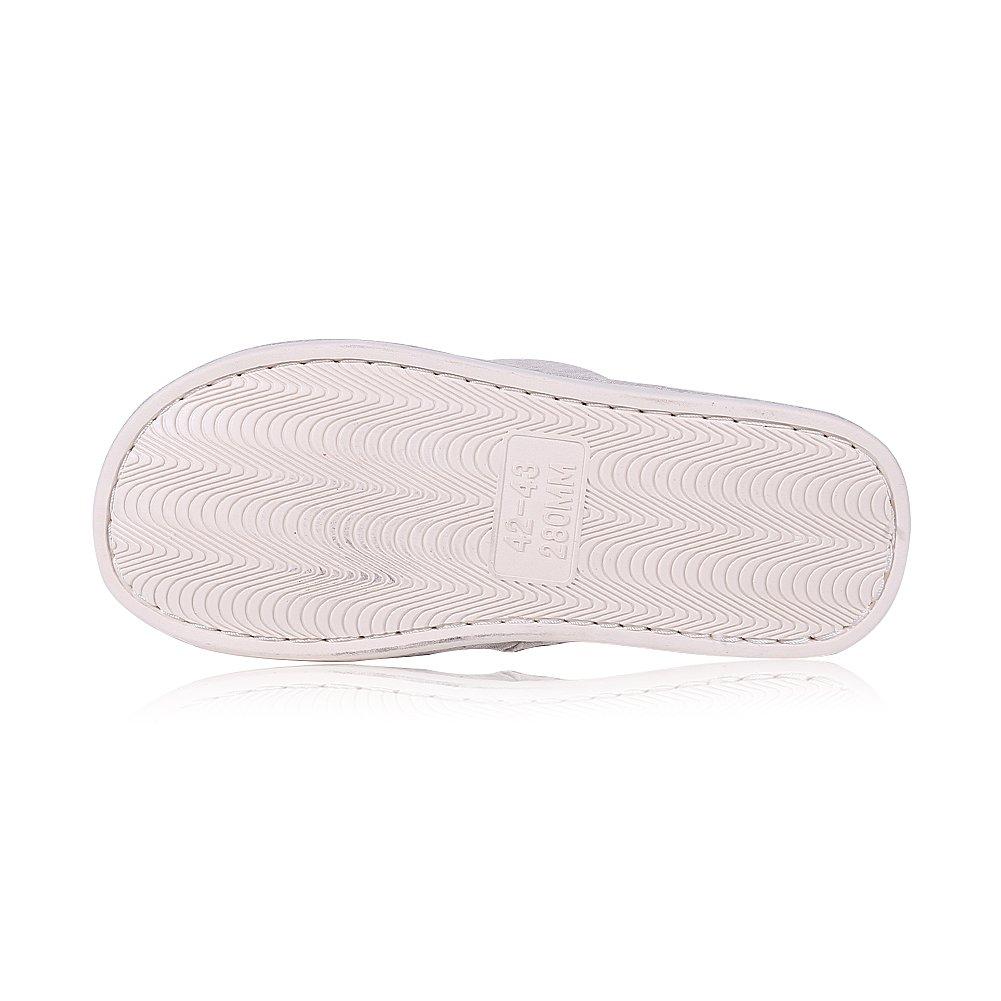 4-5,5 m us Men hell-pink shevalues Herren weiche innen-Hausschuhe /öffnen zehe-Baumwolle Memory Foam-Beleg auf Startseite Schuhe Pantoffel 6-7 m us-Frauen