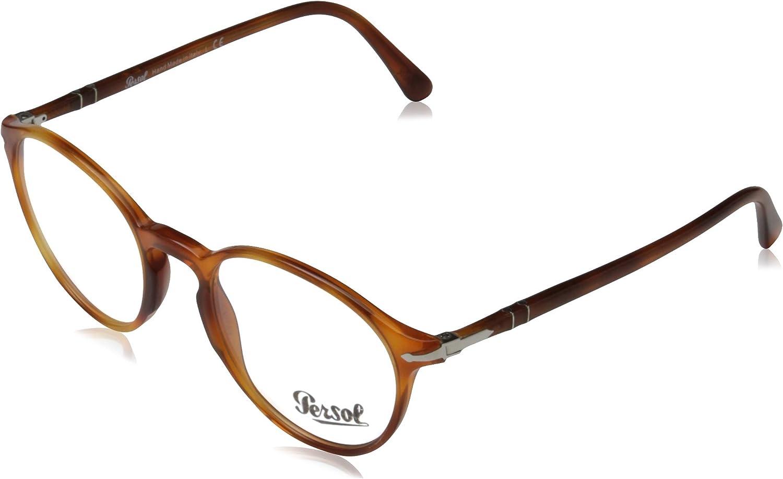 New Authentic Persol Sunglasses PO3092SM 900656 Terra Di Siena Blue Lens 50mm