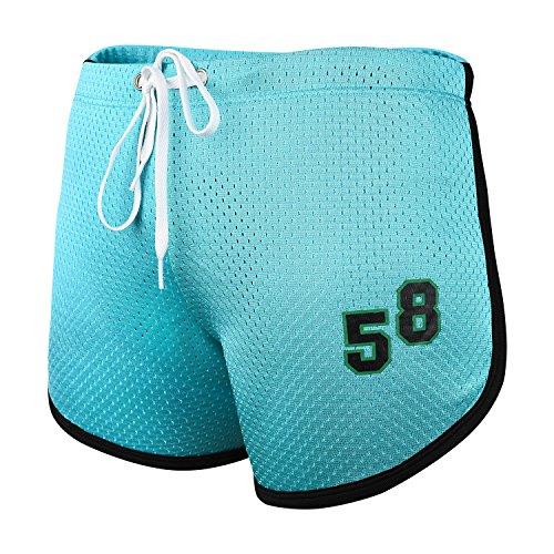 Running Shorts, ADiPROD Men Sexy Sport Bodybuilding Fitness GYM Summer Casual Short Pants (2X-Large, Light - Race Sale Shorts Ready