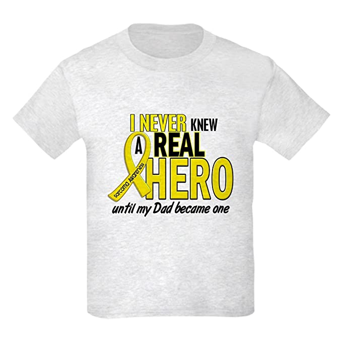 1e6360c4 CafePress - Real Hero Sarcoma - Youth Kids Cotton T-shirt: Amazon.ca:  Clothing & Accessories