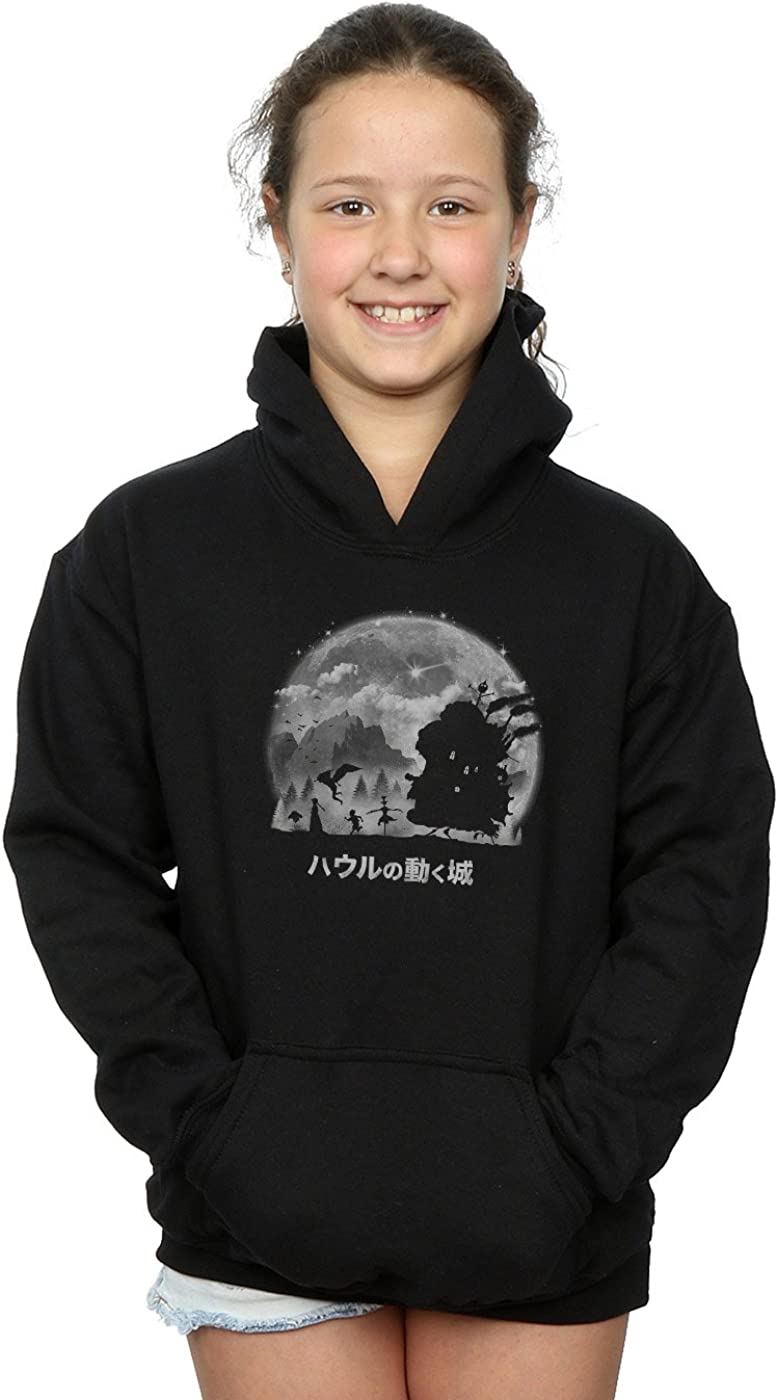 Vincent Trinidad Girls A Castles Journey Hoodie Black 12-13 years