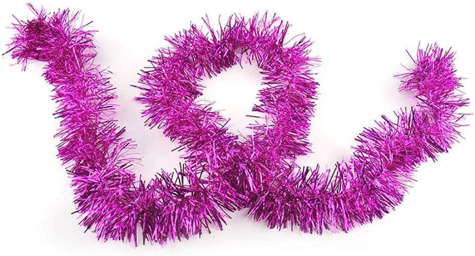 Vacances Anniversaire Unique WElinks Lot de 20 guirlandes de No/ël de 2 m pour d/écoration de Barres Nouvel an d/écorations de f/ête Brillantes /à Suspendre pour Mariage d/écorations de Sapin de No/ël