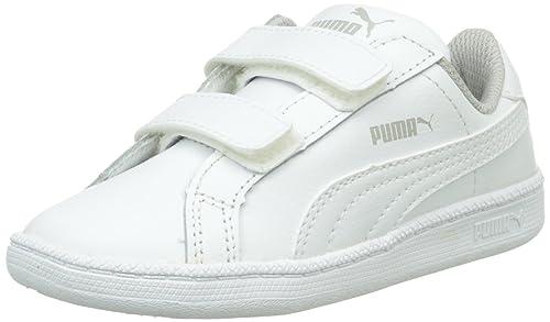 c64862bd5bbb Puma Unisex Kids  Smash Fun L V Low-Top Sneakers