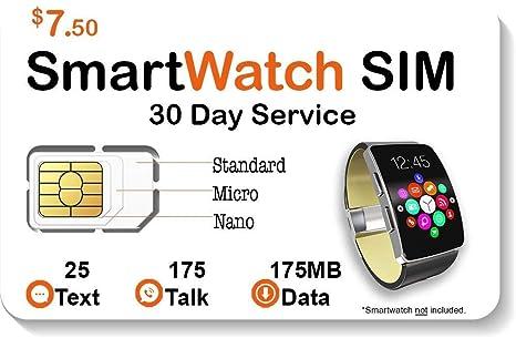 Amazon.com: SpeedTalk - Tarjeta SIM para reloj inteligente ...
