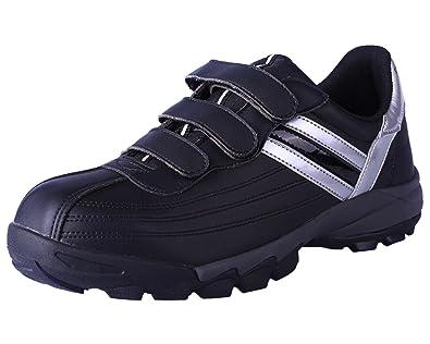 547aff25c12 DDTX Men s Steel Toe Work Shoes Lightweight Athletic Safety Sneakers Black  ...