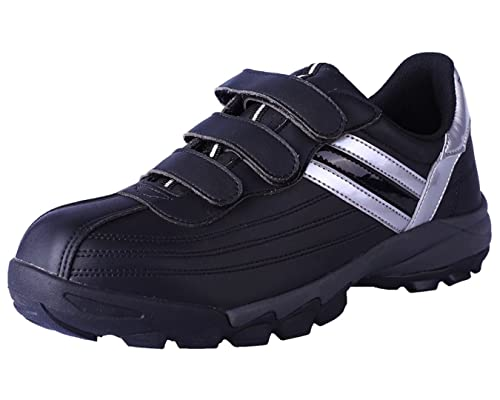 ca51e68eb54 DDTX Safety Work Shoes Lightweight Steel Toe Cap Wide Fit Black White Size  3-12UK
