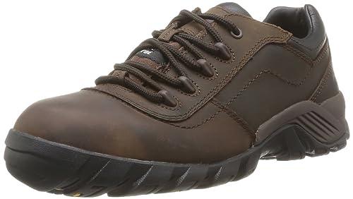 Ergos - Calzado de protección de Piel para hombre Marrón marrón, color Marrón, talla 39