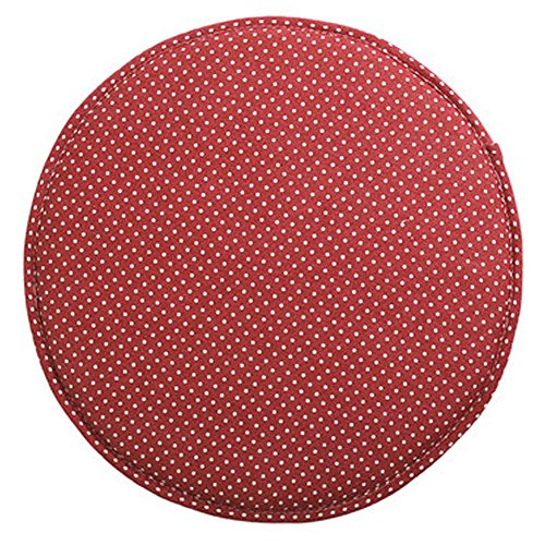 Fabric Chair Seat Student Thickened Round Pad Bar Stool Mat (color6)