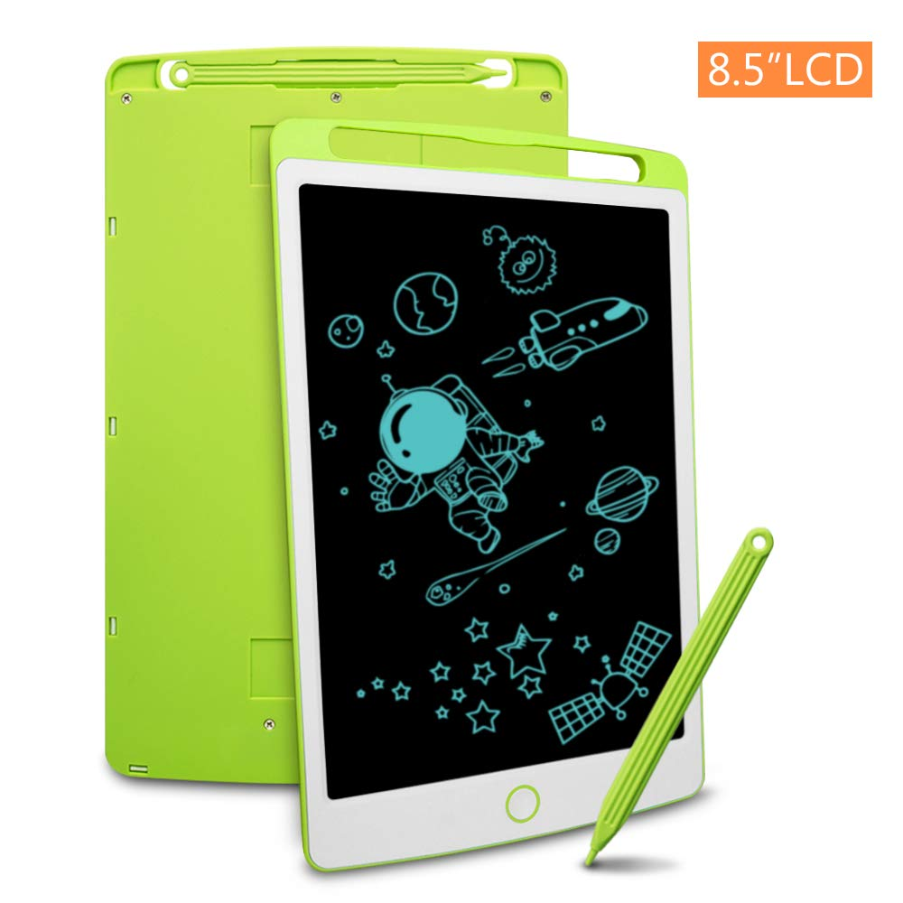 LCD Writing Tablet, Richgv 8.5 Inch Electronic Graphics Tablet Ewriter Board Mini Drawing Pad Gifts for Kids and Adults Green by Richgv