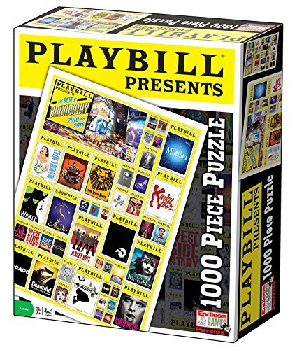 Playbill Broadway Cover Puzzle, 1000 Piece by Endless Games