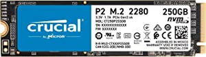 Crucial P2 250GB 3D NAND NVMe PCIe M.2 SSD - CT250P2SSD8